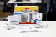 NUK Eco Control 266 Babyphone Lieferumfang