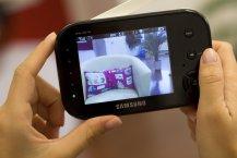 Samsung SEW 3037 Babyphone Praxistest - Kamera